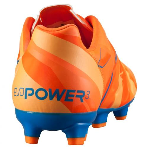 Puma Football Shoes Evopower 3 H2h Fg orange clown fish-electric blue lemonade Tifoshop
