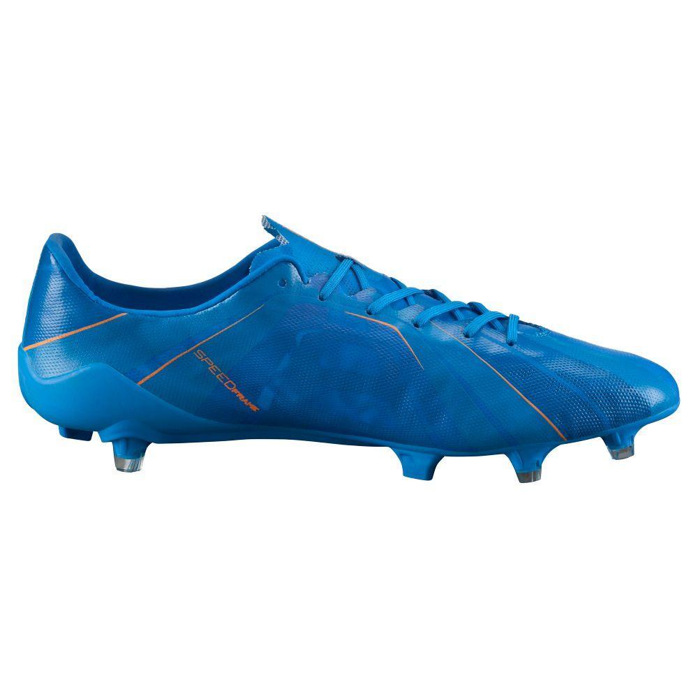 Puma Chaussures de football Football evoSPEED SL H2H FG 15/16 orange clown fish-electric blue lemonade 8,5 (UK)