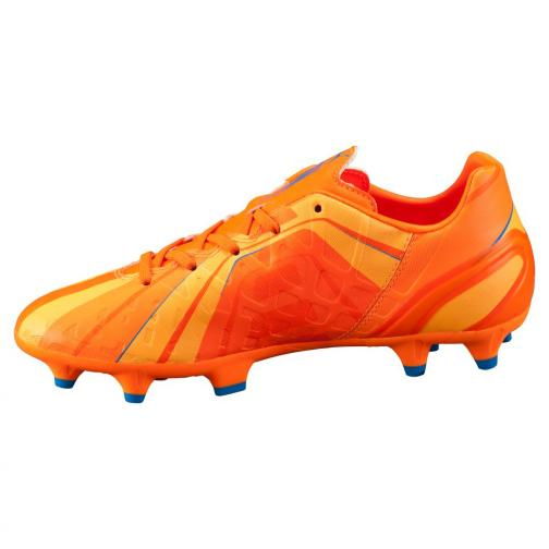 Puma Scarpe Calcio Evospeed 4 H2h Fg Jr  Junior Arancione Blu Tifoshop