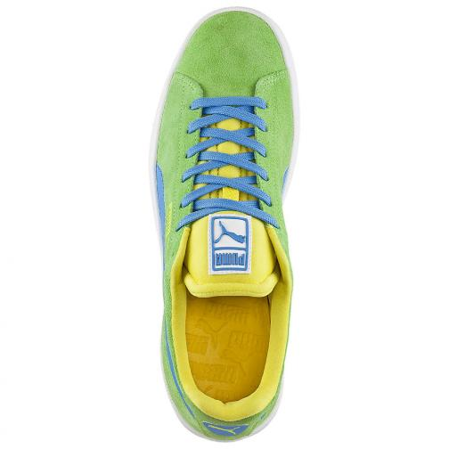 Puma Shoes Suede S jasmine green-marine Tifoshop