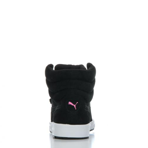 Puma Chaussures Sky 3 Lace Matt & Shine Wn's  Femmes black-carmine rose Tifoshop