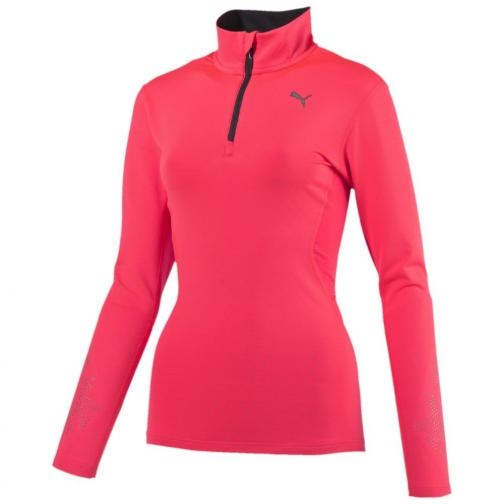Puma T-shirt Nightcat Pwrwarm L/s W  Woman fiery coral
