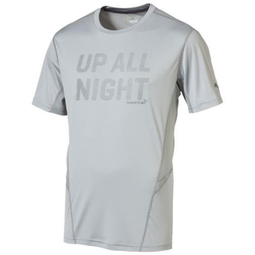 Puma T-shirt Nightcat Logo S/s Tee quarry