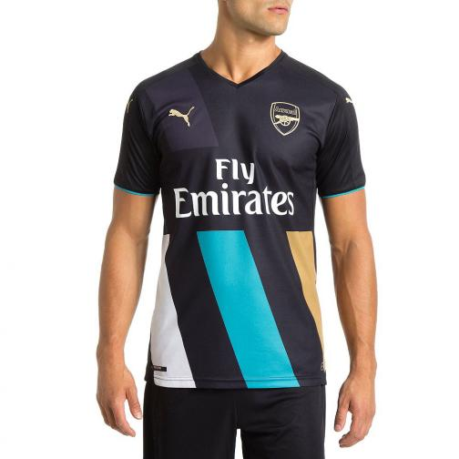 Puma Maillot De Match Third Arsenal   15/16 anthracite-capri breeze-victory gold-white Tifoshop