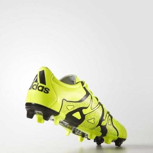 Adidas Chaussures De Football X15.2 Fg/ag Solar Yellow / Solar Yellow / Core Black Tifoshop