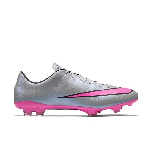 Nike Fußball-schuhe Mercurial Veloce Ii Grey Pink