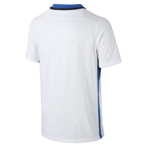 Nike Maillot De Match Away Inter Enfant  15/16 White Royal Tifoshop