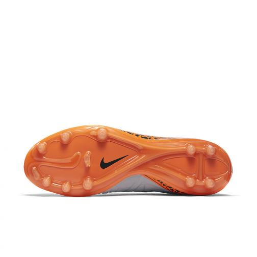 Nike Chaussures De Football Hypervenom Phinish Ii Fg Grey Orange Tifoshop