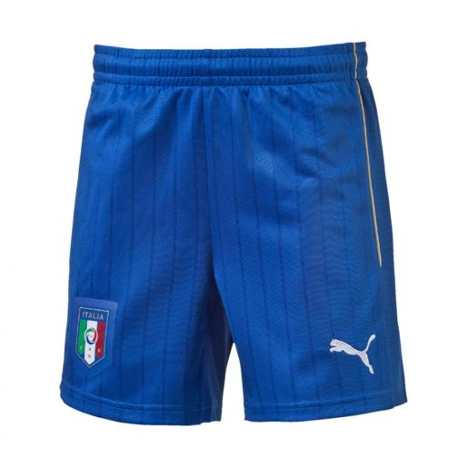 Puma Game Shorts Away Italy   16/18 Team Power Blue-white