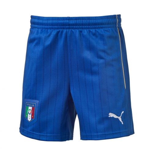 Puma Shorts Away Italy Juniormode  16/18 Team Power Blue-white