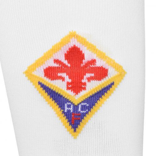 Le Coq Sportif Calze Gara Away Fiorentina   15/16 Bianco Tifoshop