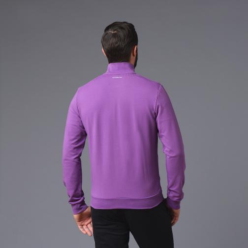 Le Coq Sportif Felpa  Fiorentina Viola Tifoshop