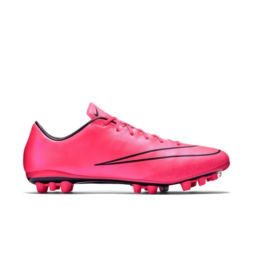 Nike Chaussures De Football Mercurial Veloce Ii Ag-r Pink