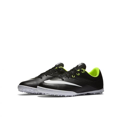 Nike Futsal Shoes Jr. Mercurialx Pro Street Tf  Junior Nero Bianco Tifoshop