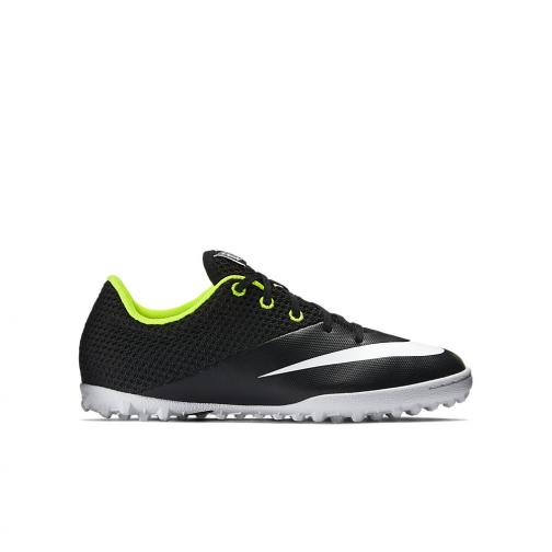 Nike Futsal Shoes Jr. Mercurialx Pro Street Tf  Junior Nero Bianco