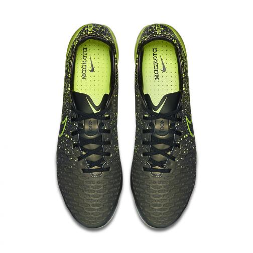 Nike Chaussures De Football Magista Opus Fg DARK CITRON/VOLT-BLACK Tifoshop