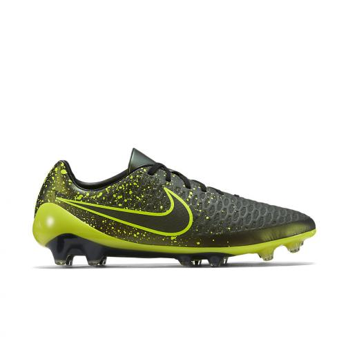 Nike Chaussures De Football Magista Opus Fg DARK CITRON/VOLT-BLACK