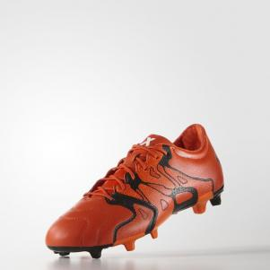 Adidas Chaussures De Football X 15.2 Fg/ag Leather