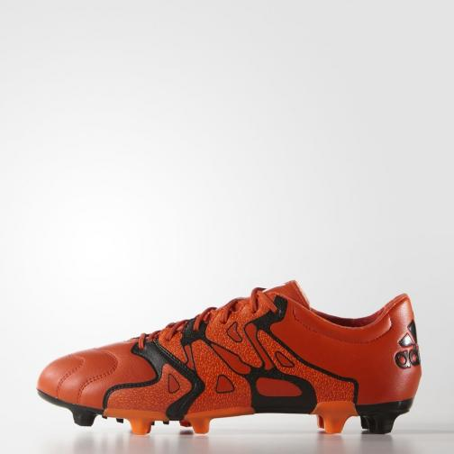 Adidas Chaussures De Football X 15.2 Fg/ag Leather bold orange/core black/solar orange
