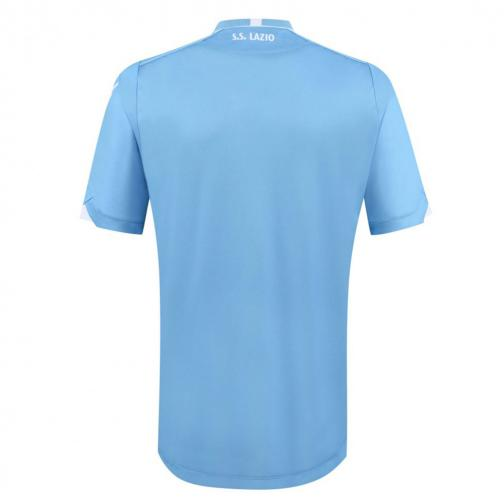 Macron Maillot De Match Home Lazio   15/16 BLUE LIGHT Tifoshop