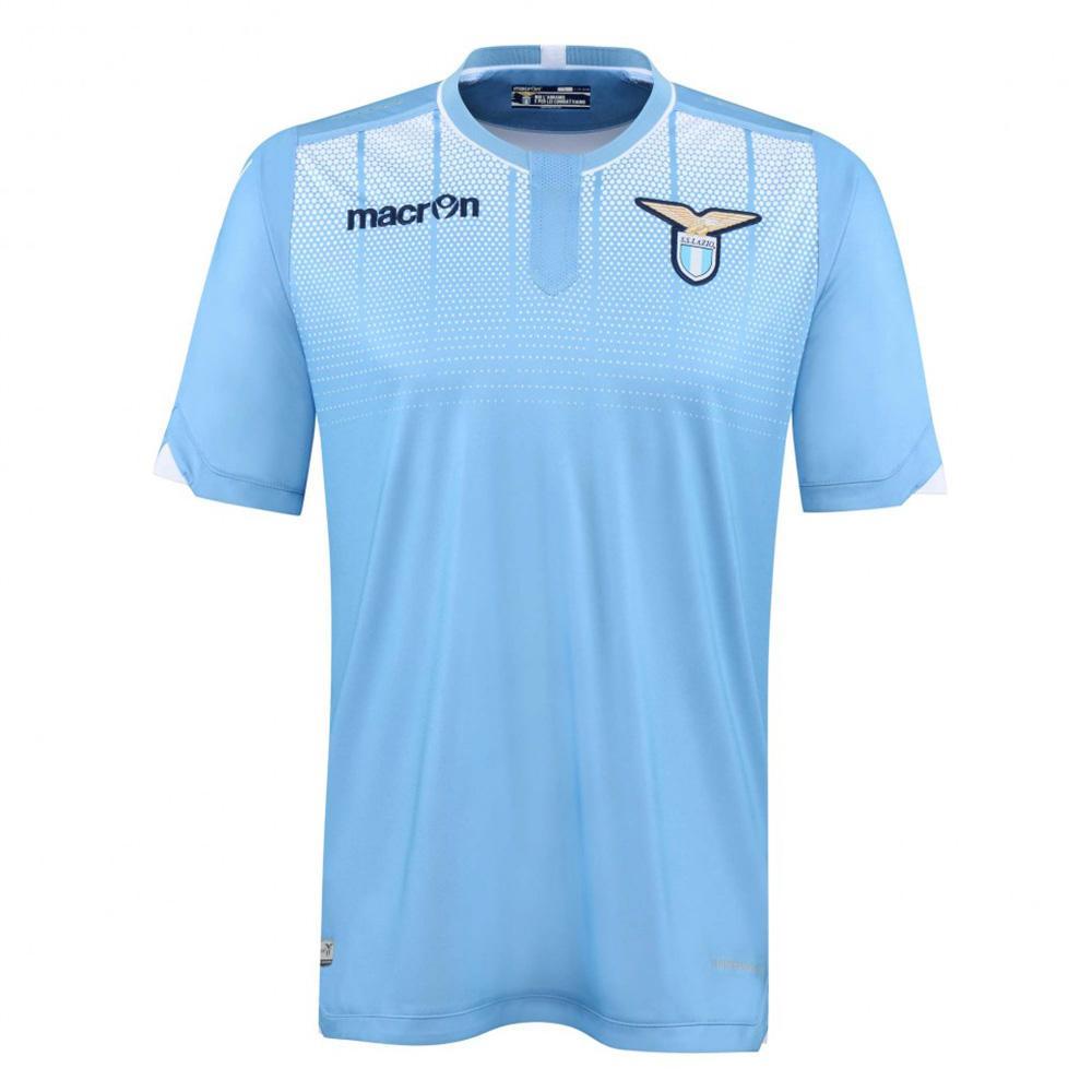 Macron Maillot De Match Home Lazio   15/16
