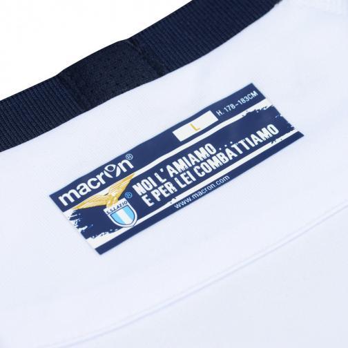Macron Shirt Drittel Lazio   15/16 White Light Blue Tifoshop