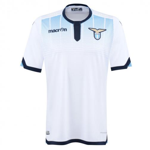 Macron Shirt Drittel Lazio   15/16 White Light Blue