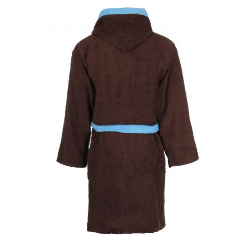Macron Robe De Chambre Lifestyle Lazio Enfant Brown Tifoshop