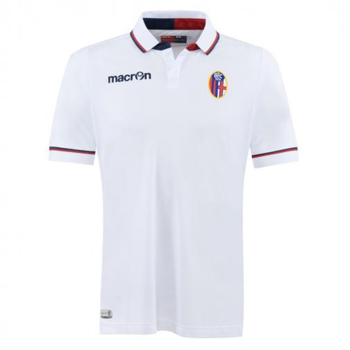 Macron Maillot De Match Away Bologna   15/16 WHITE