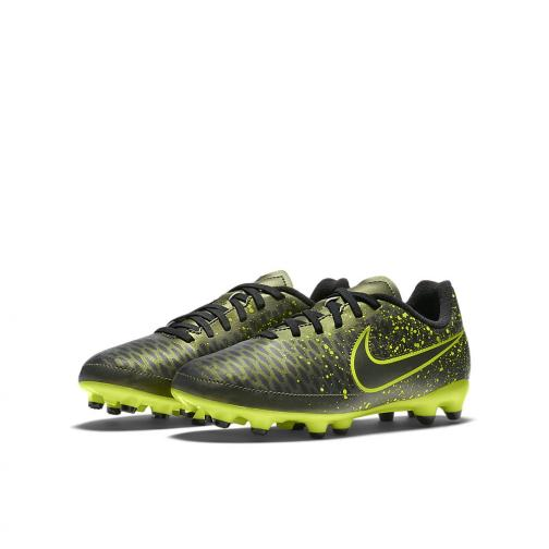 Nike Fußball-schuhe Jr. Magista Onda Fg  Juniormode DARK CITRON/BLACK Tifoshop