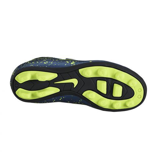Nike Football Shoes Jr Mercurial Vortex 2 (v) Fg-r  Junior SQUADRON BLUE/SQDRN BL-BLK-VLT Tifoshop