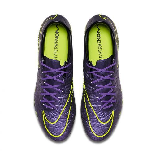 Nike Fußball-schuhe Hypervenom Phinish Ii Fg HYPER GRAPE / BLACK Tifoshop