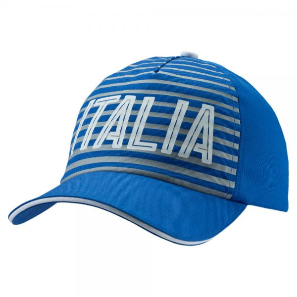 Italia Fanwear Cap team power blue FIGC Store