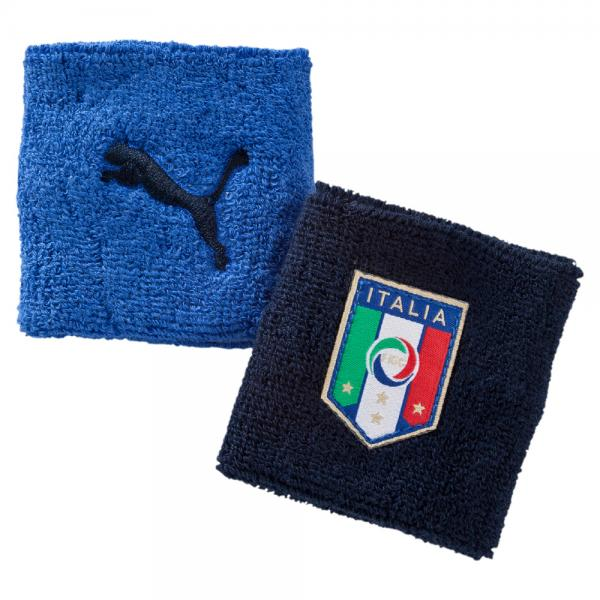 Puma Manchette Fan Wristband Italy team power blue-navy-white