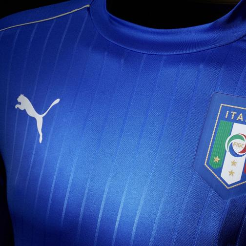Puma Authentic Trikot Home Italy   16/18 team power blue-white Tifoshop