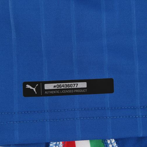 Figc Italia Home Shirt Authentic team power blue-white FIGC Store