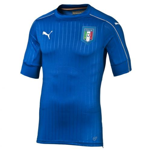 Puma Authentic Trikot Home Italy   16/18 team power blue-white