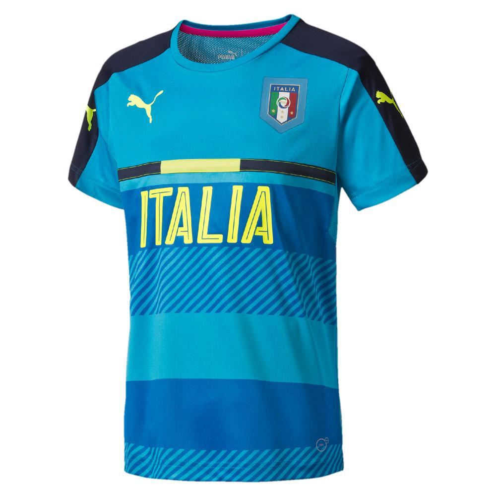 Puma Bonneterie De Formation Figc Training Jersey Italy Enfant