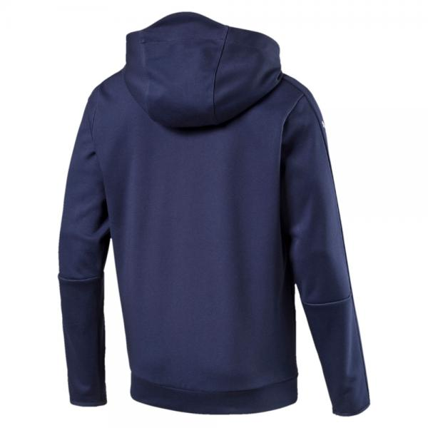 Puma Sweatshirt Figc Casual Zip-thru Hoody Italy peacoat-team power blue Tifoshop