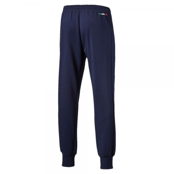 Puma Pantalone Figc Casual Sweat Pants Italia Blu Tifoshop