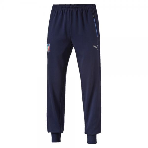 Puma Hose Figc Casual Sweat Pants Italy peacoat-team power blue