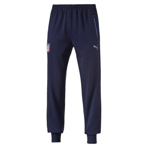 Puma Hose Figc Casual Sweat Pants Italy Juniormode peacoat-team power blue