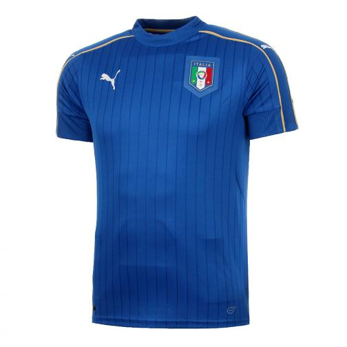 Puma Shirt Home Italy   16/18 team power blue-white