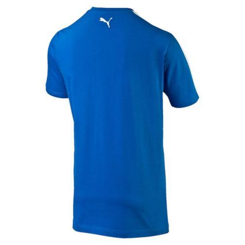 Tshirt Badge Italia Junior Azzurro Italia FIGC Store