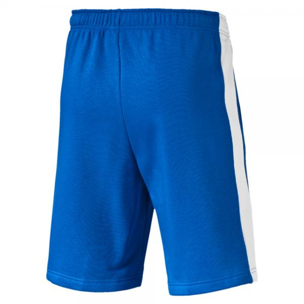Puma Bermuda Shorts Figc Fanwear Bermudas Italy team power blue-white Tifoshop
