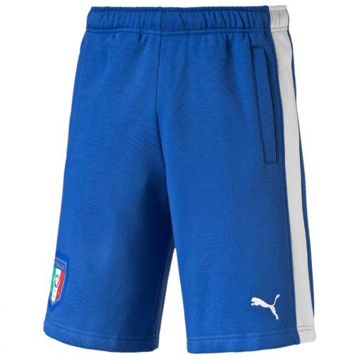 Puma Bermuda Figc Fanwear Bermudas Italy Juniormode team power blue-white