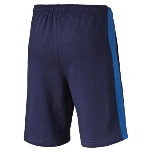 Puma Bermuda Figc Fanwear Bermudas Italy Enfant peacoat-team power blue Tifoshop