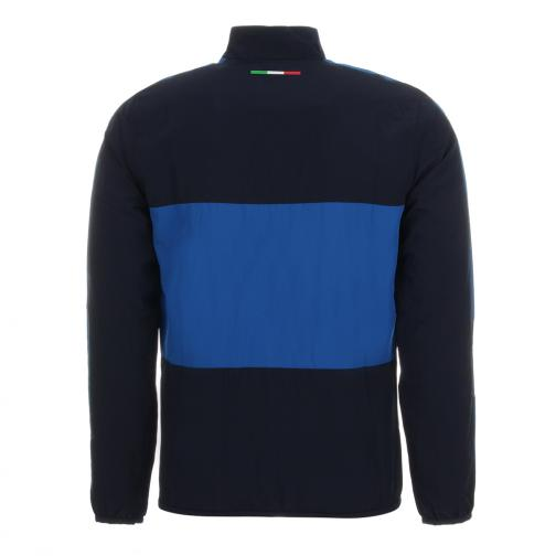 Puma Sweat Figc Woven Jacket Italy peacoat-team power blue Tifoshop