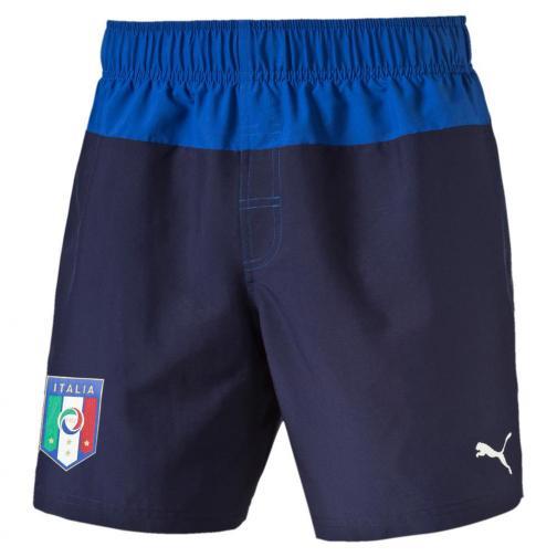 Figc Italia Beachwear Shorts peacoat-team power blue FIGC Store
