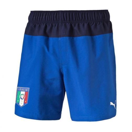 Puma Costume Figc Beachwear Shorts Italia Junior Azzurro Italia